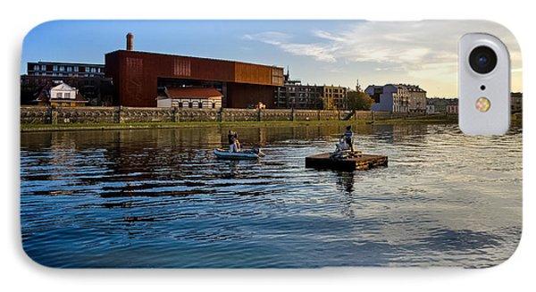 Vistula River Phone Case by Tomasz Dziubinski