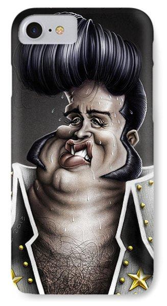 Viva Las Vegas Elvis IPhone Case by Andre Koekemoer