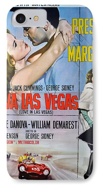 Viva Las Vegas Phone Case by Georgia Fowler