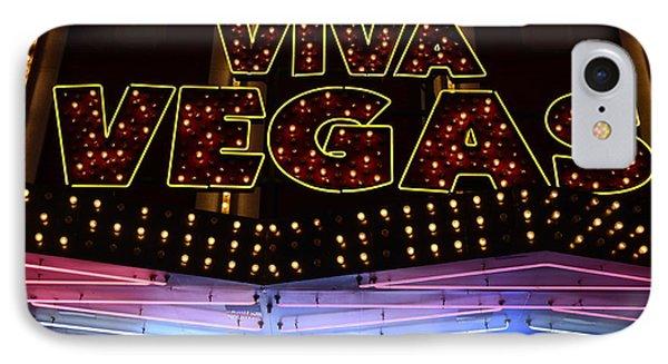 Viva Vegas Neon IPhone Case by Bob Christopher