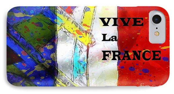 Vive La France Phone Case by Brian Raggatt