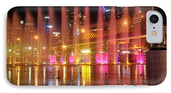 Vivid Sydney By Kaye Menner -  Vivid Aquatique  IPhone Case