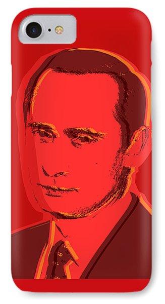 Vladimir Putin IPhone Case by Jean luc Comperat