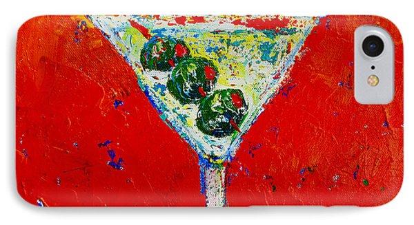 Vodka Martini Shaken Not Stirred - Martini Lovers - Modern Art IPhone Case