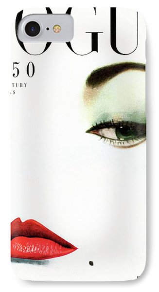 Vogue Cover Of Jean Patchett IPhone Case by Erwin Blumenfeld