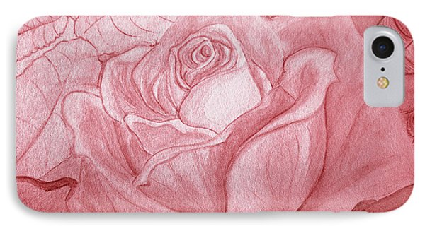 Voir La Vie En Rose IPhone Case by Heather  Hiland