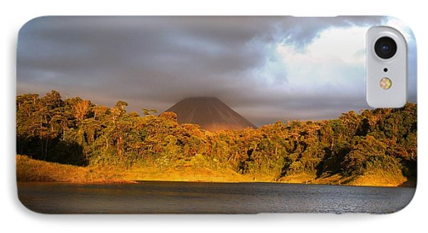 Volcano Lake IPhone Case