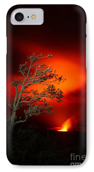 Volcano National Park Glow All Profits Go To Hospice Of The Calumet Area IPhone Case