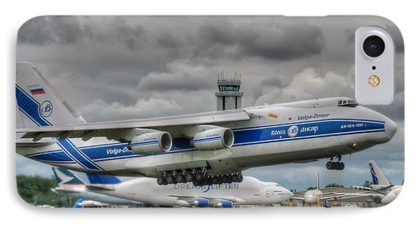 IPhone Case featuring the photograph Volga-dnepr An124  by Jeff Cook