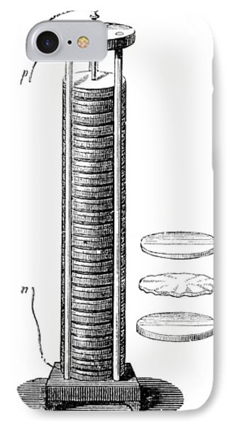 Voltaic Pile, 1800 Phone Case by Granger