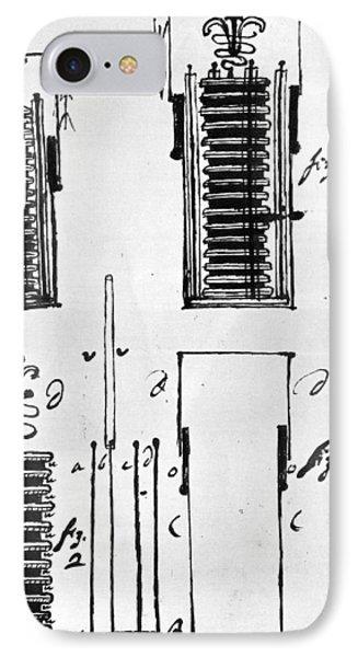 Voltaic Pile, 1801 Phone Case by Granger