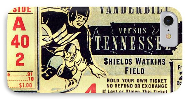 Volunteer State Rivalry Phone Case by Benjamin Yeager