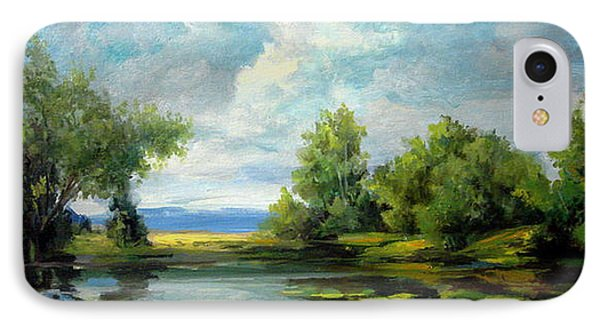 Voronezh River Beauty IPhone Case by Mikhail Savchenko