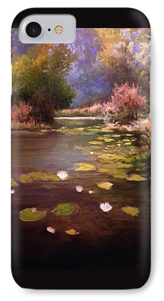 Voronezh River IPhone Case by Mikhail Savchenko