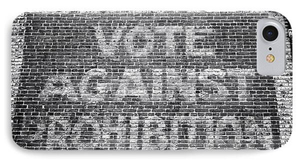 Vote Against Prohibition I Phone Case by John Rizzuto