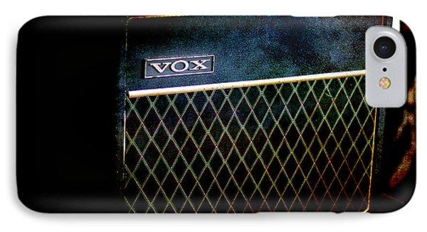 Vox Guitar Amplifier IPhone Case