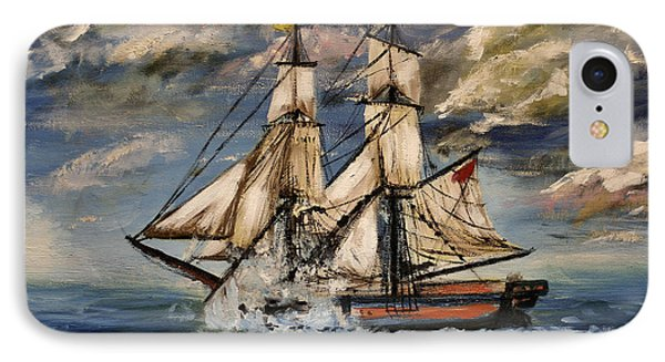 Voyage Of The Cloud Chaser IPhone Case by Isabella F Abbie Shores FRSA