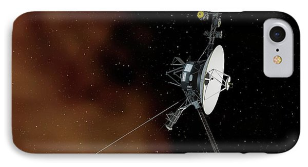 Voyager 1 IPhone Case by Nasa/jpl-caltech