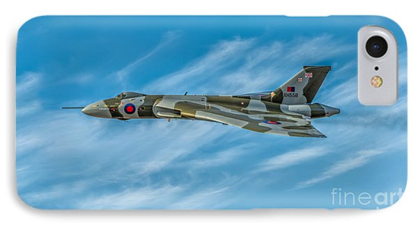Vulcan Bomber Phone Case by Adrian Evans