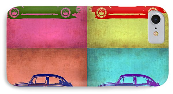 Vw Beetle Pop Art 1 IPhone Case by Naxart Studio