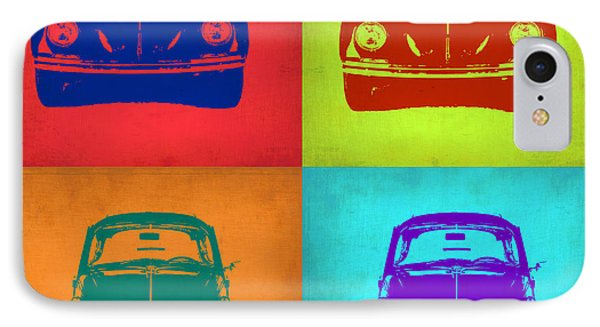Vw Beetle Pop Art 5 Phone Case by Naxart Studio