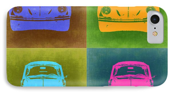 Vw Beetle Pop Art 6 IPhone Case by Naxart Studio