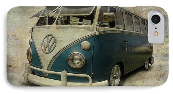 Vw Bus On Display IPhone Case by Athena Mckinzie