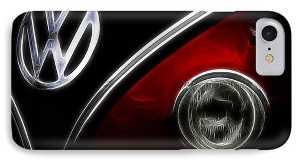 Vw Micro Bus Logo IPhone Case by Steve McKinzie