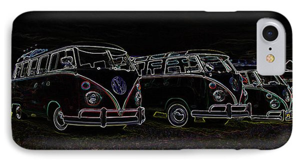 Vw Microbus Glow Phone Case by Steve McKinzie