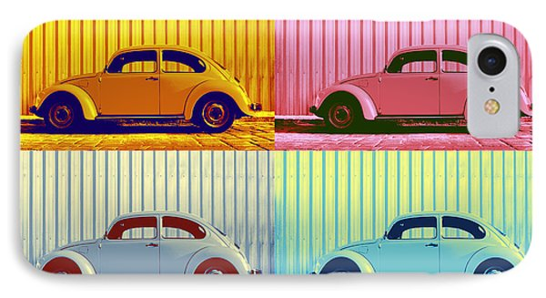 Vw Pop Autumn IPhone Case by Laura Fasulo