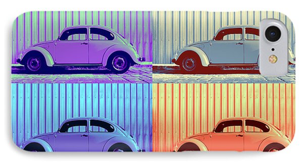 Vw Pop Winter IPhone Case by Laura Fasulo