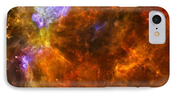 W3 Nebula IPhone Case