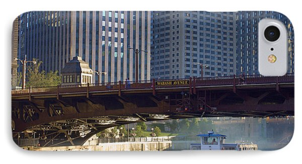IPhone Case featuring the photograph Wabash Street Bridge by John Hansen