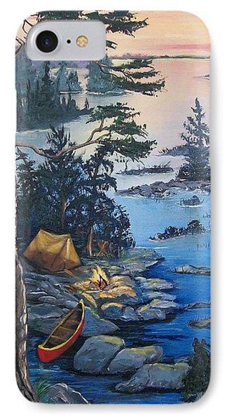 Wabigoon Lake Memories IPhone Case by Sharon Duguay