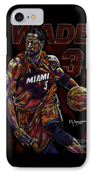 Wade IPhone Case by Maria Arango