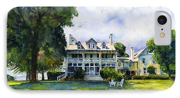 Wades Point Inn IPhone Case