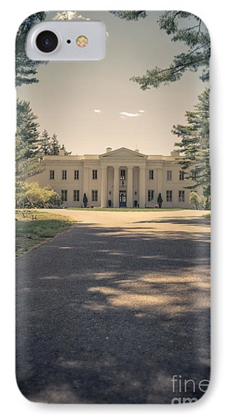 Wadsworth Mansion Middletown Connecticut IPhone Case by Edward Fielding