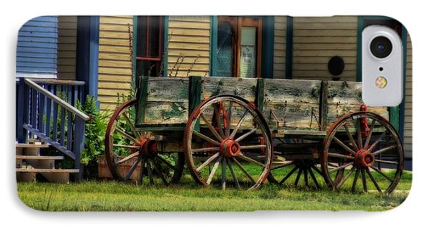 Wagon In The Old West IPhone Case