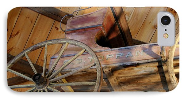 Wagon IPhone Case by Lois Lepisto