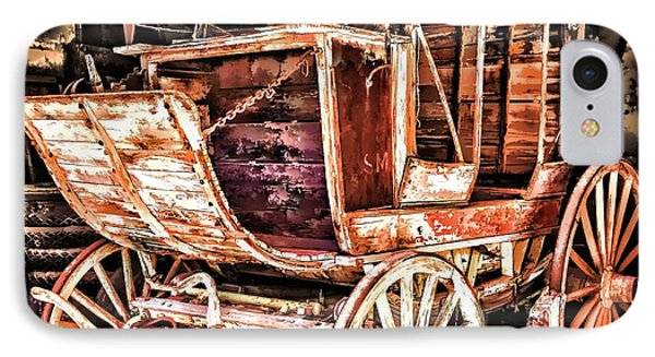 IPhone Case featuring the painting Wagon by Muhie Kanawati