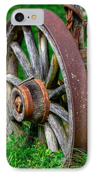 Wagon Wheel IPhone Case by Brian Stevens