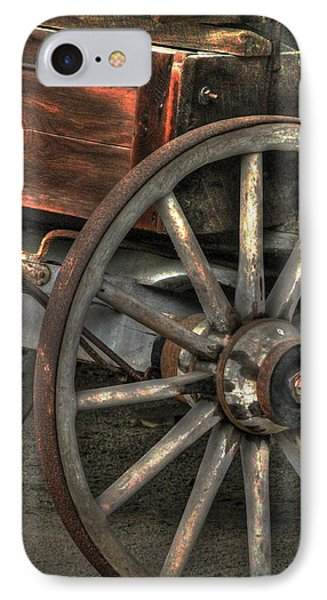 Wagonwheel IPhone Case