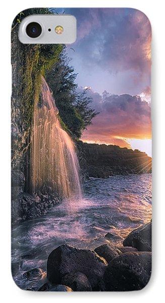 Wai Kai II IPhone Case by Hawaii  Fine Art Photography