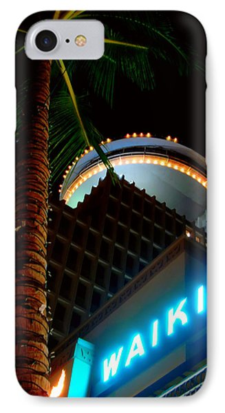 IPhone Case featuring the photograph Waikiki Nightlife by Kara  Stewart