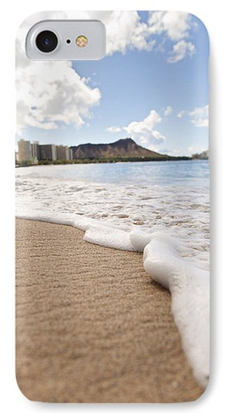 Waikiki Shore Phone Case by Brandon Tabiolo