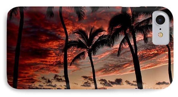 Waikiki Sunset IPhone Case by David Smith