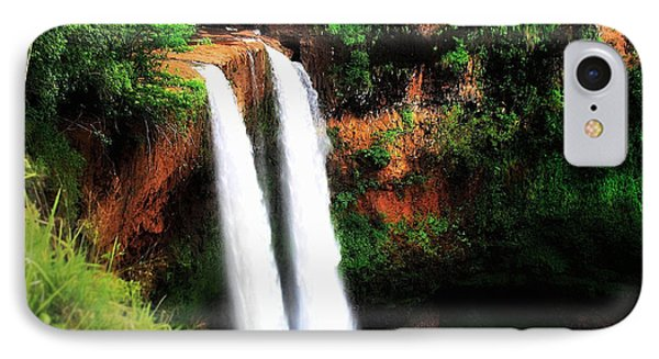 Wailua Falls IPhone Case by Kristine Merc