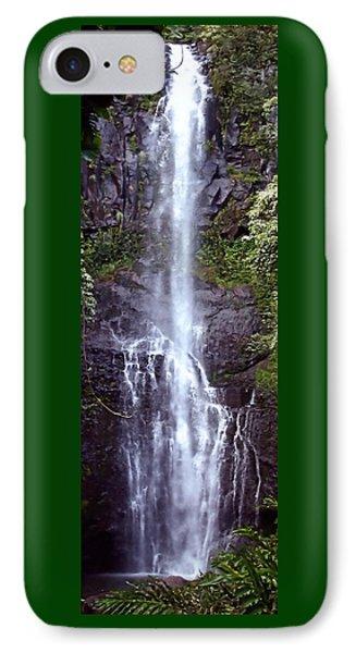 Wailua Falls Maui Hawaii IPhone Case