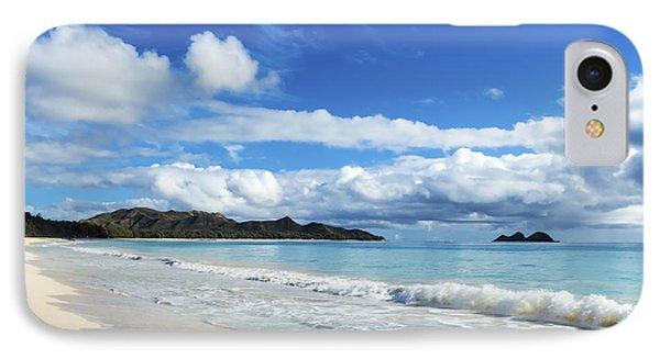 Waimanalo And Bellows Beach 1 IPhone Case