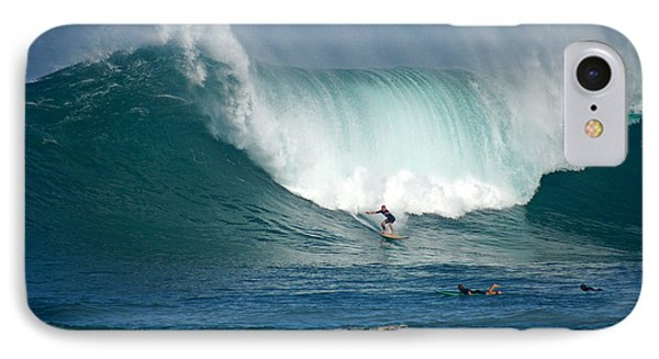 Waimea Bay Monster Phone Case by Kevin Smith
